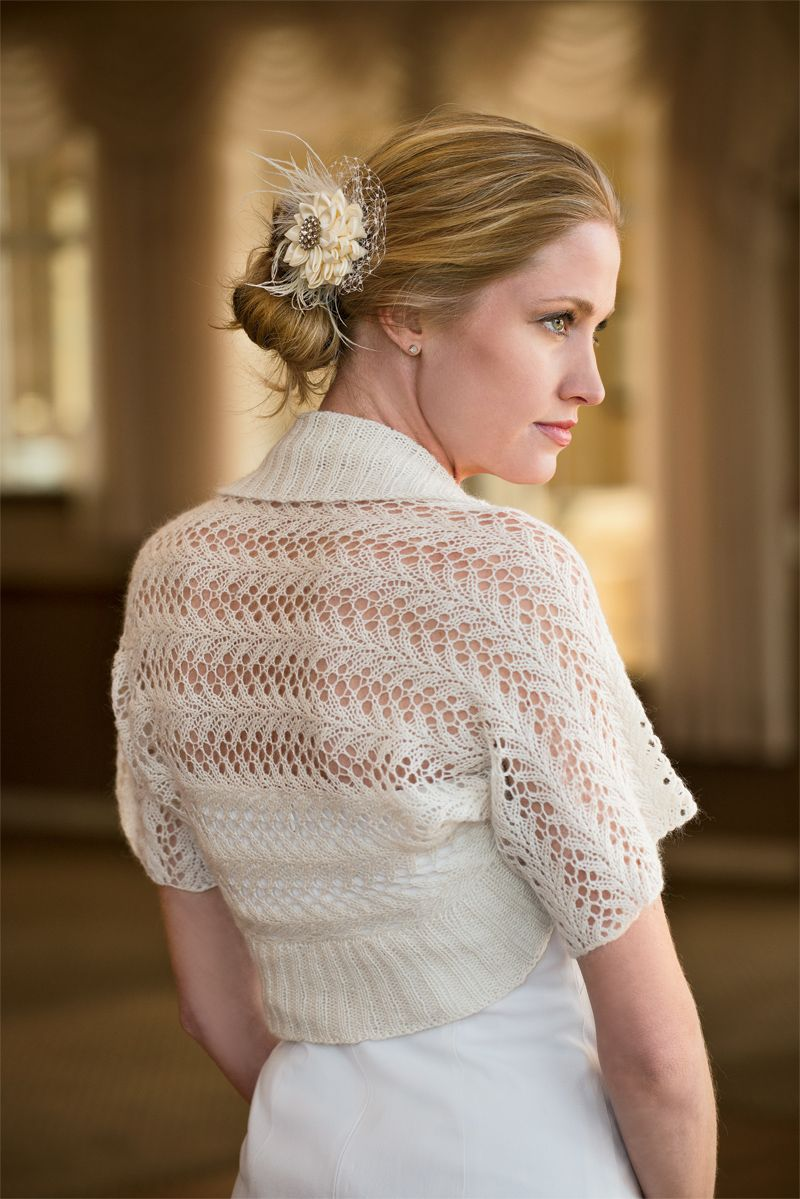 lacy knitted shrug | Lacy Shrug | Just STUFF | Pinterest | Knit ...