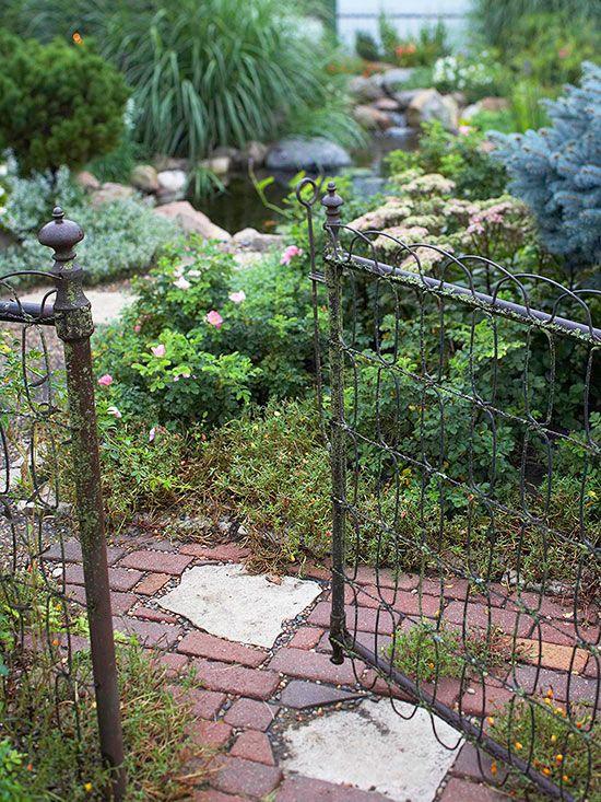 Vintage Garden Path Inspiration