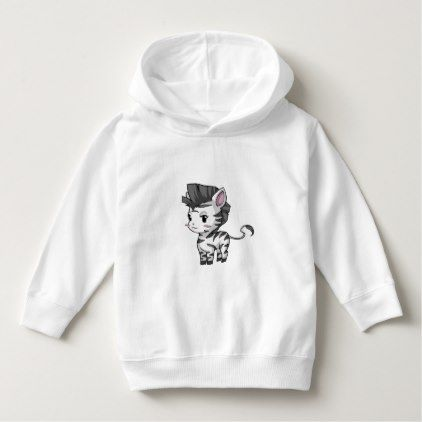 Zebra Toddler Pullover Hoodie - toddler youngster infant child kid gift idea design diy