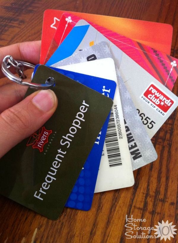 How To Organize Gift Cards Loyalty Cards Keep Track Of Balances Organization Gifts Loyalty Card Organization