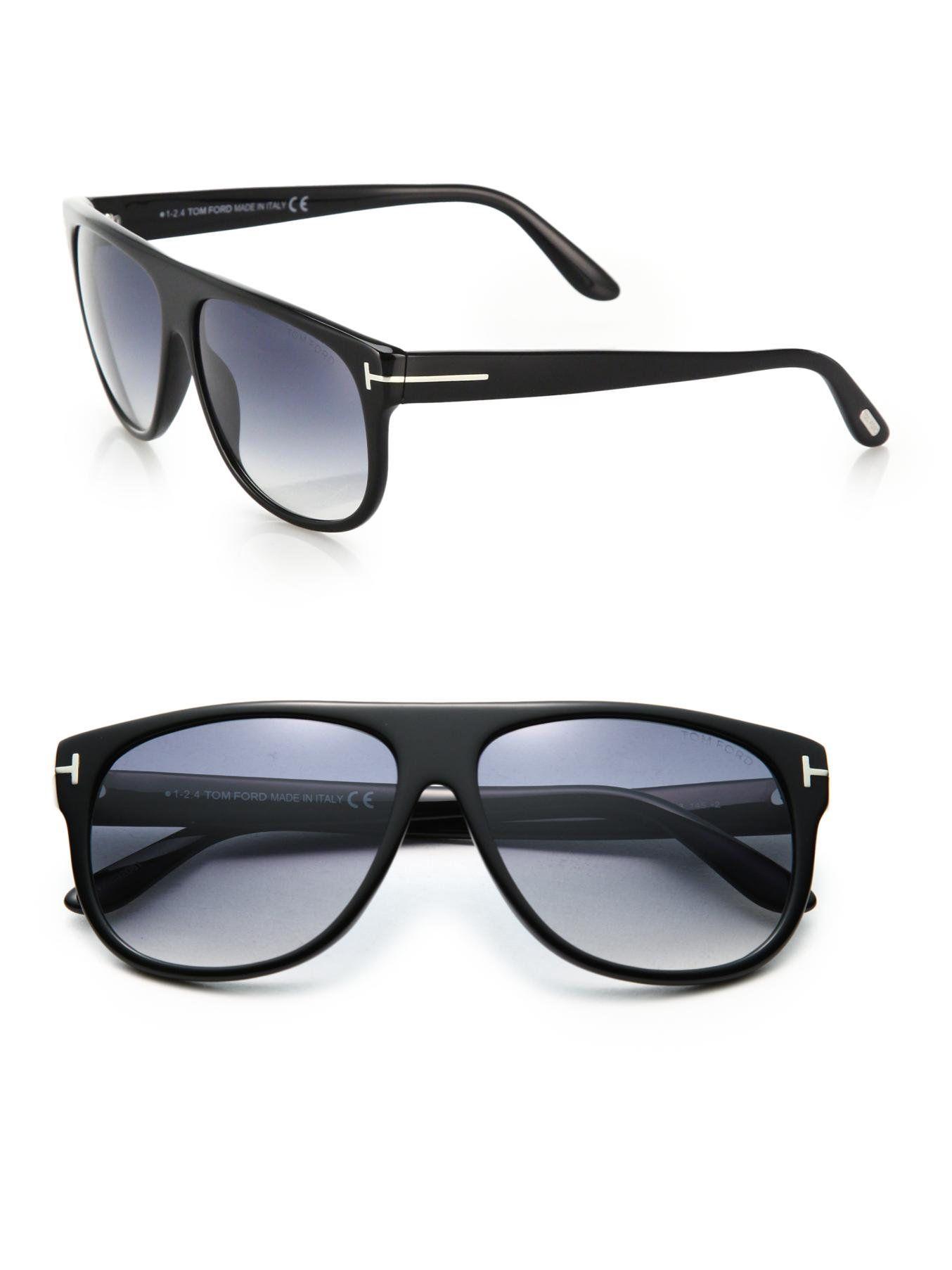 72cf585c4150 Tom Ford - Kristen Black Aviator Sunglasses