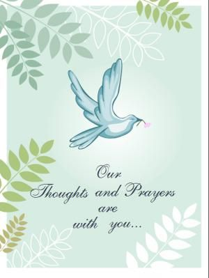 free sympathy cards templates