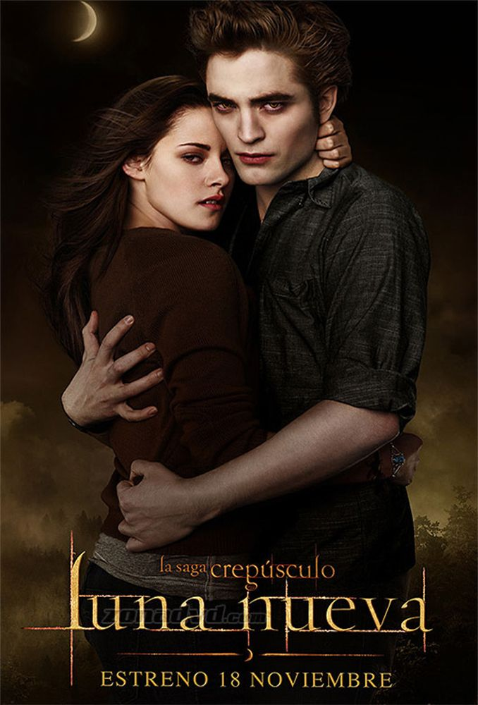 Luna Nueva Twilight Saga New Moon New Moon Movie Twilight Movie Posters
