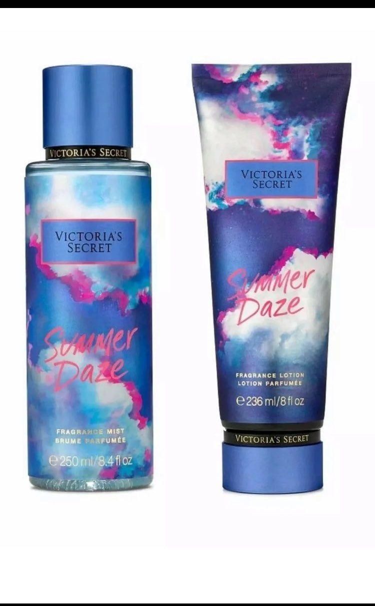 Victoria S Secret Limited Edition Summer Daze Body Spray Mist And Lotion Set Bath And Body Works Perfume Victoria Secret Fragrances Victoria Secret Body Spray