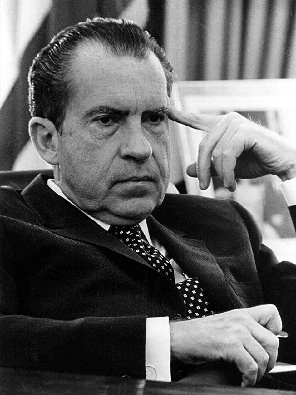 Richard Milhous Nixon (1913-1994) 37th President of the United States