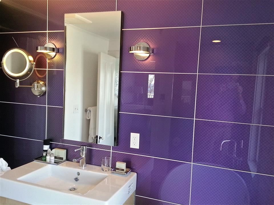 Purple Modono Gl Panels Used For