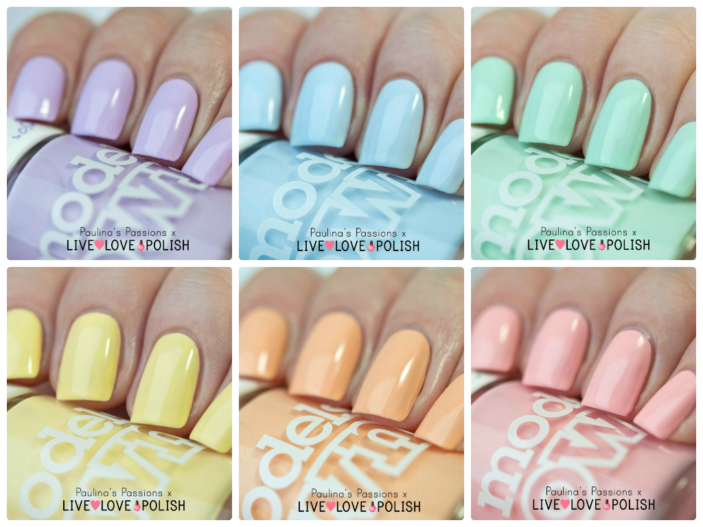 Models Own Fruit Pastel Collection Swatches And Review By Paulina S Passions With Images Nail Polish Nails Nail Art Blog
