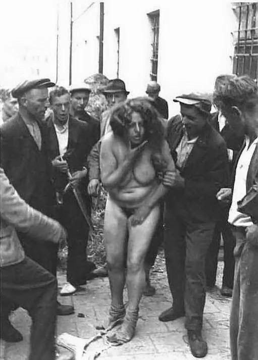 tortured girl nude nazi Sttripped