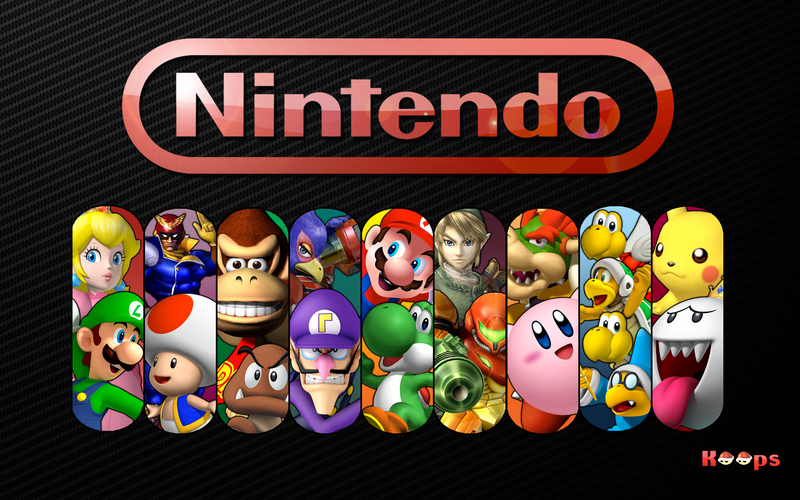 Nintendo Characters Wallpaper Kirby Art Character Wallpaper Nintendo Characters