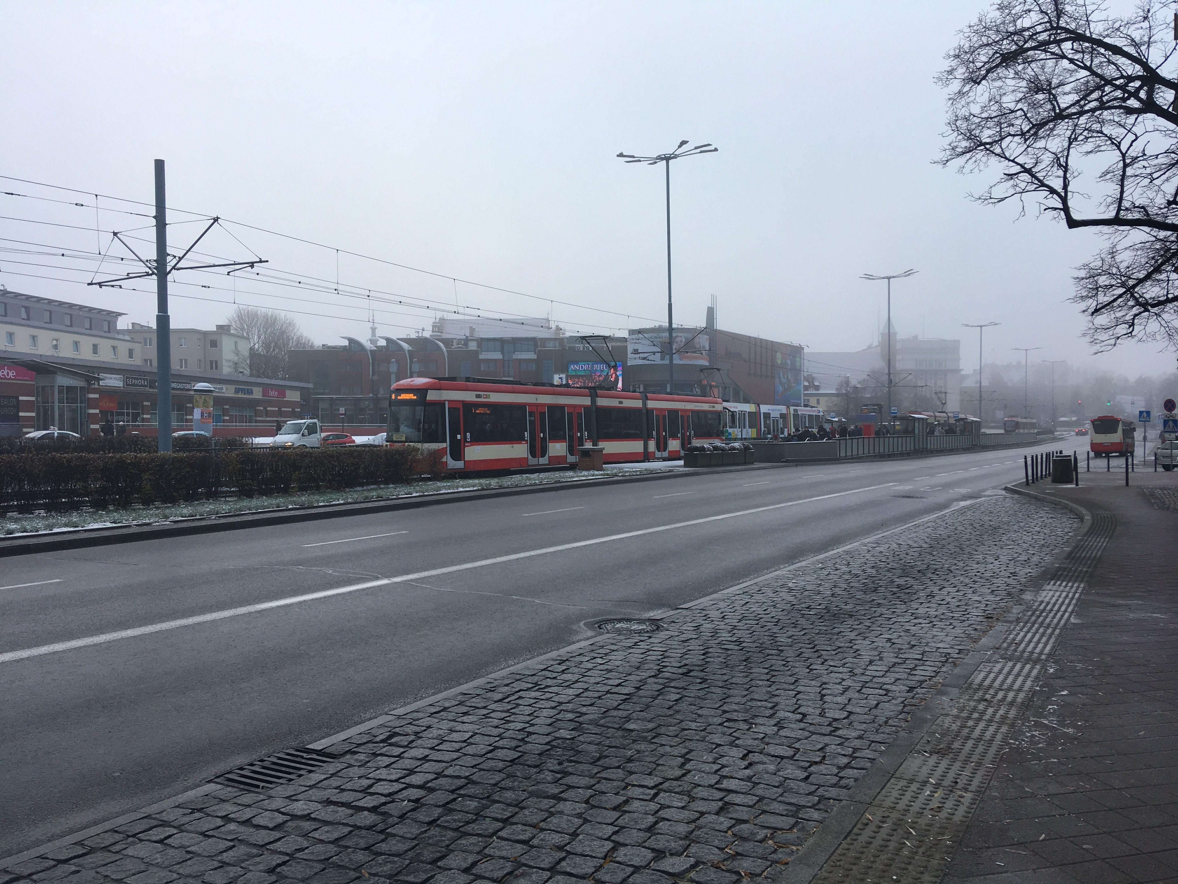 Гданьск в тумане