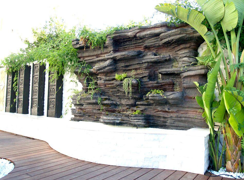 Jardines verticales huertos y fuentes zen jardin - Jardines verticales interior ...