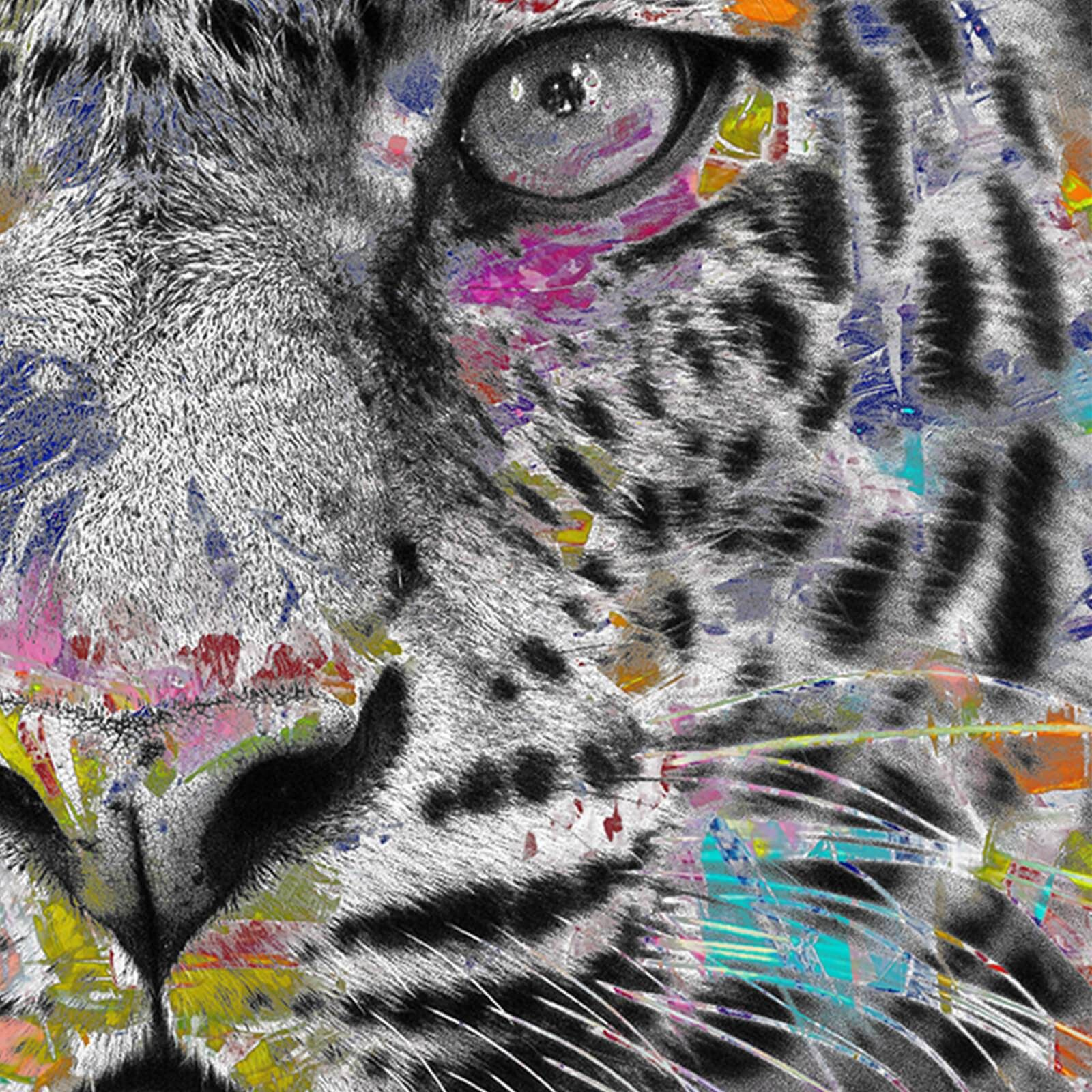 Leinwandbild   Pop Art Leo   Panorama - 90x30