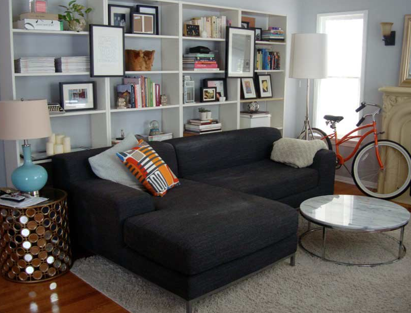 Cool Idea Diy Built In Bookcases Bookshelves In Living Room Living Room Bookcase Sofa Layout