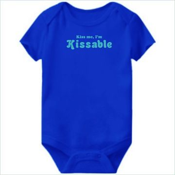 Kiss Me, I'm Kissable Baby Bodysuit