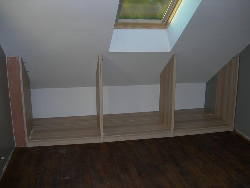 Dressing Sous Pente Divers Pinterest Mezzanine Attic And Armoires