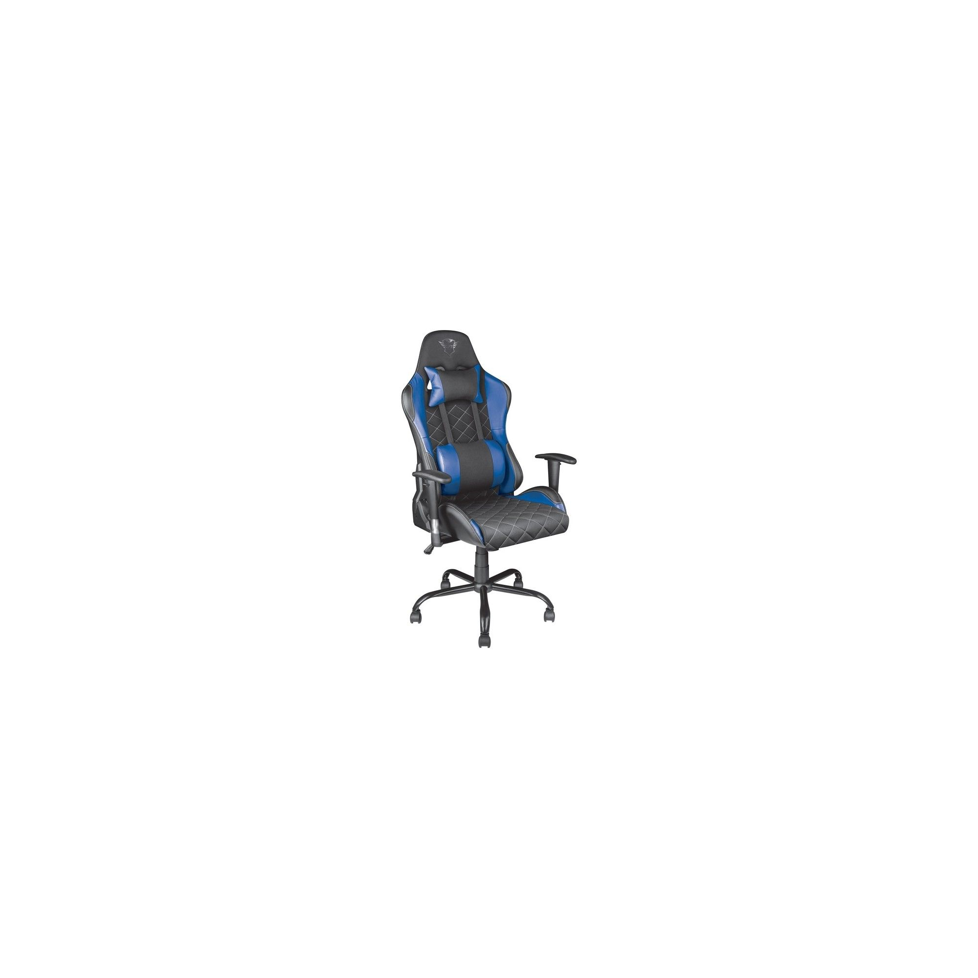 Trust Gxt 707b Resto Gaming Chair Blue Ergonomic Adjustable
