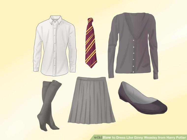 dress like ginny weasley from harry potter diy costumes. Black Bedroom Furniture Sets. Home Design Ideas