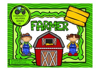 Read and Write Around the Room Community Helpers Series #3 Farmer