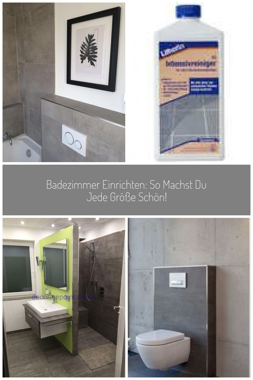 Kleinesbad Bad Badezimmer Kleinesbadezimmer Fliesen Betonoptik Grau Poster Badezimmer Fliesen Betonoptik Badezimmer Einrichten In 2020 Home Decor Decor Home
