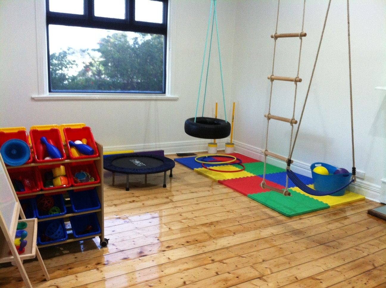 Kids home gymnastics room independence bendigo s
