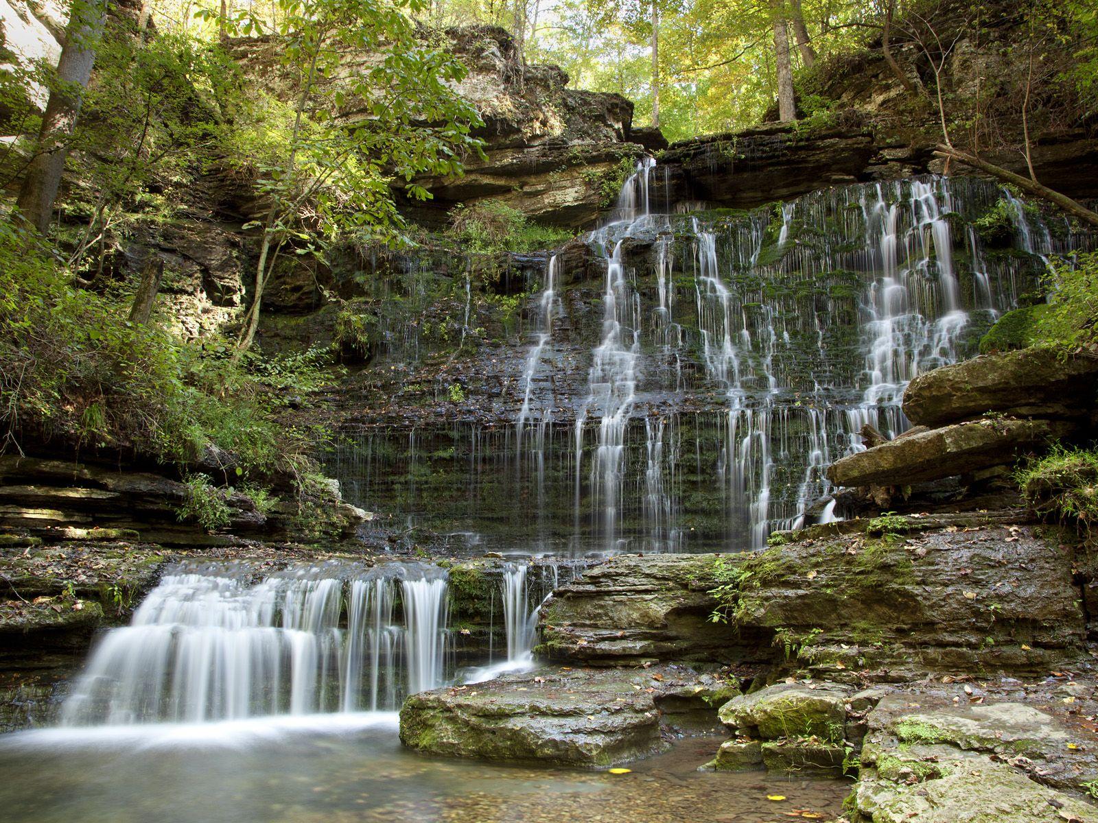 Machine Falls, Short Springs State Natural Area, Near