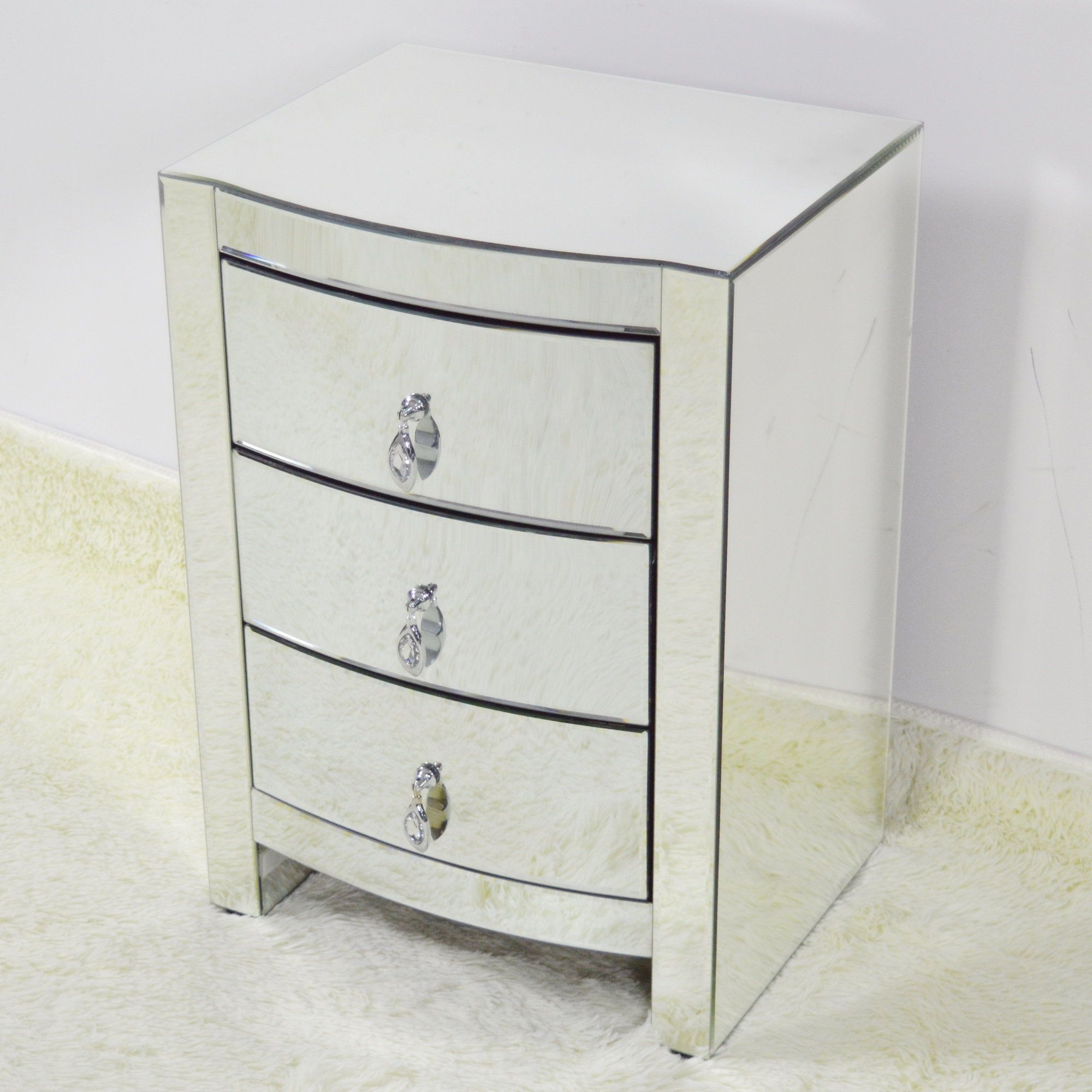 Hot Curve 3 Drawer Accent Chest