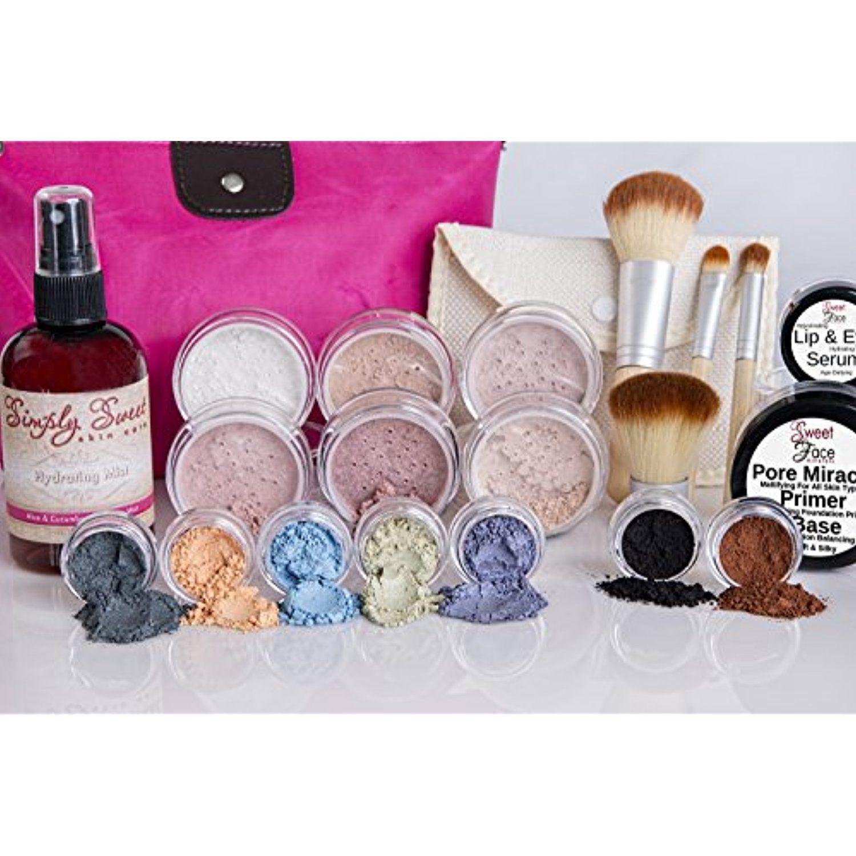 IMPULSE KIT Full Size Mineral Makeup Set Matte Foundation