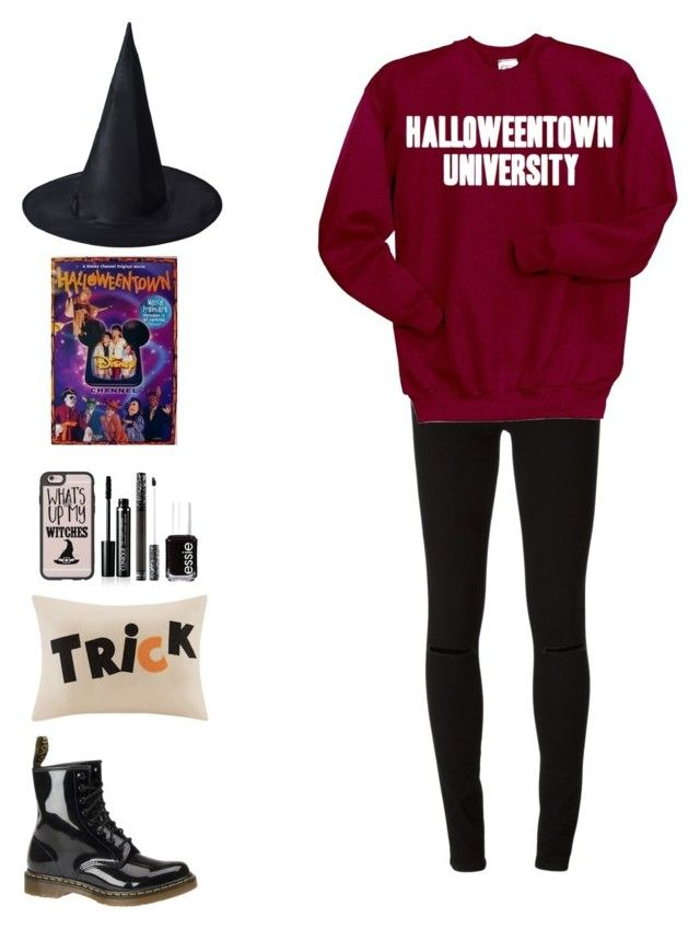 """October Day #15"" by mariam06 ❤ liked on Polyvore featuring Diesel, Disney, Casetify, Dr. Martens, Clinique, Essie, Madison Park and plus size clothing"