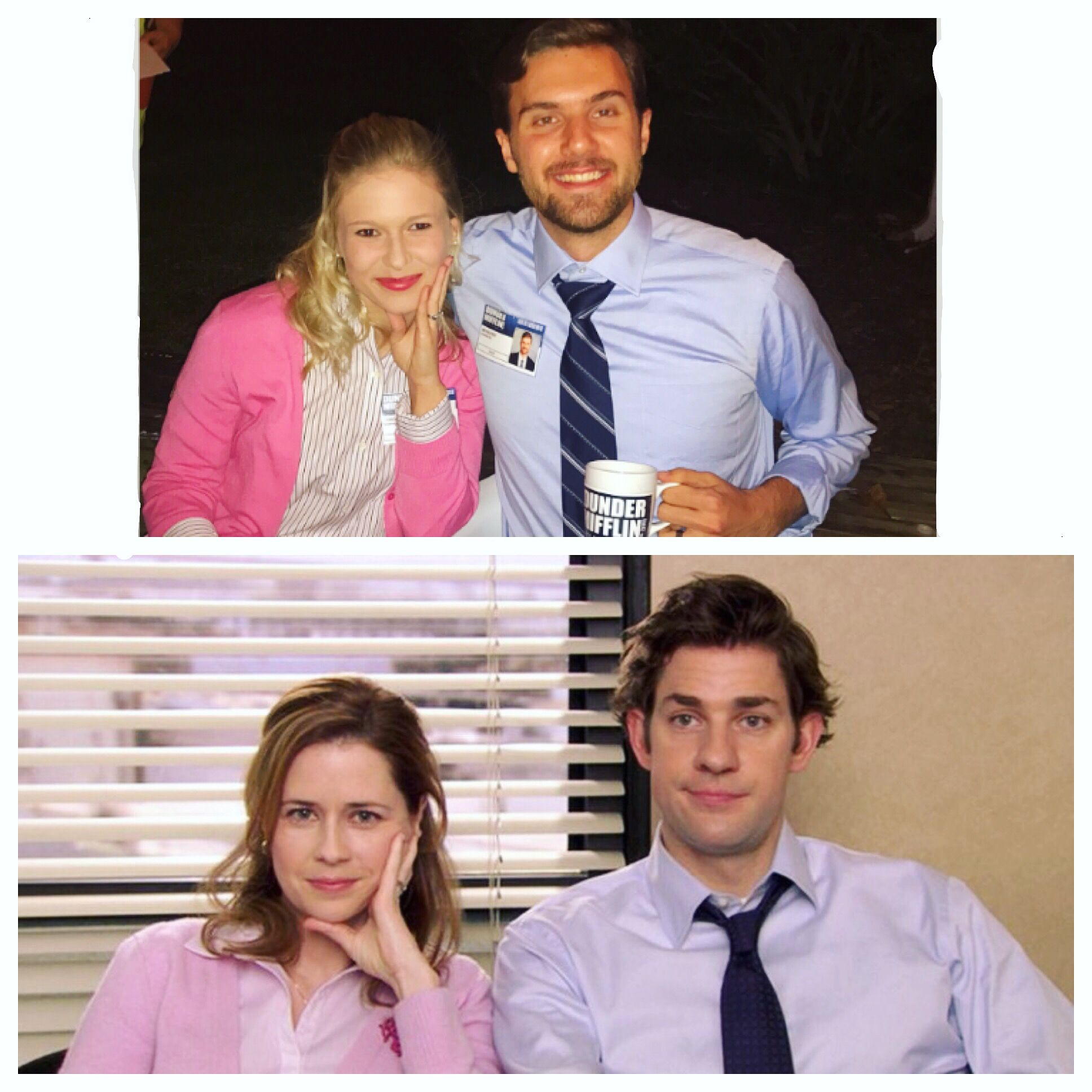 the office jim and pam costume halloween dress up couple | diy