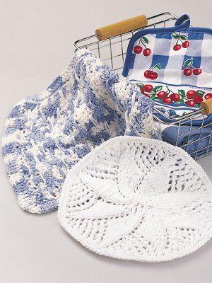 Country Charm Dishcloth | Mantel, Carpeta y Accesorios
