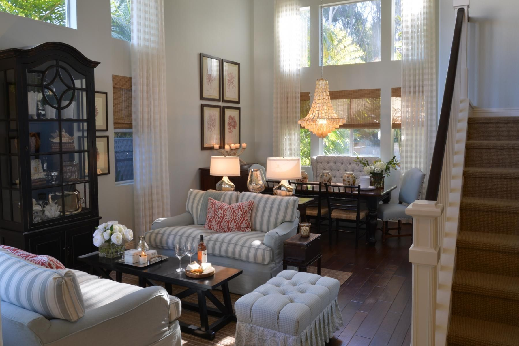 Living Room Design  San Diego Coastal  Kathy Ann Abell Interiors Delectable The Living Room San Diego Decorating Inspiration