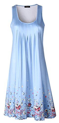 Sheshares Women Tank Floral Dress Comfy Loose PleatedGow... https://www.amazon.com/dp/B071DXBYTW/ref=cm_sw_r_pi_dp_x_sGQCzbV4BHV85