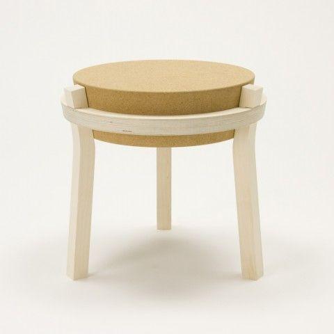 'Corker' stool by Akinori Tagashira and Design Soil