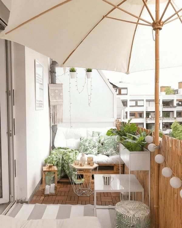 Photo of ▷ Ideas to decorate mini terraces. Exterior decoration 2019.