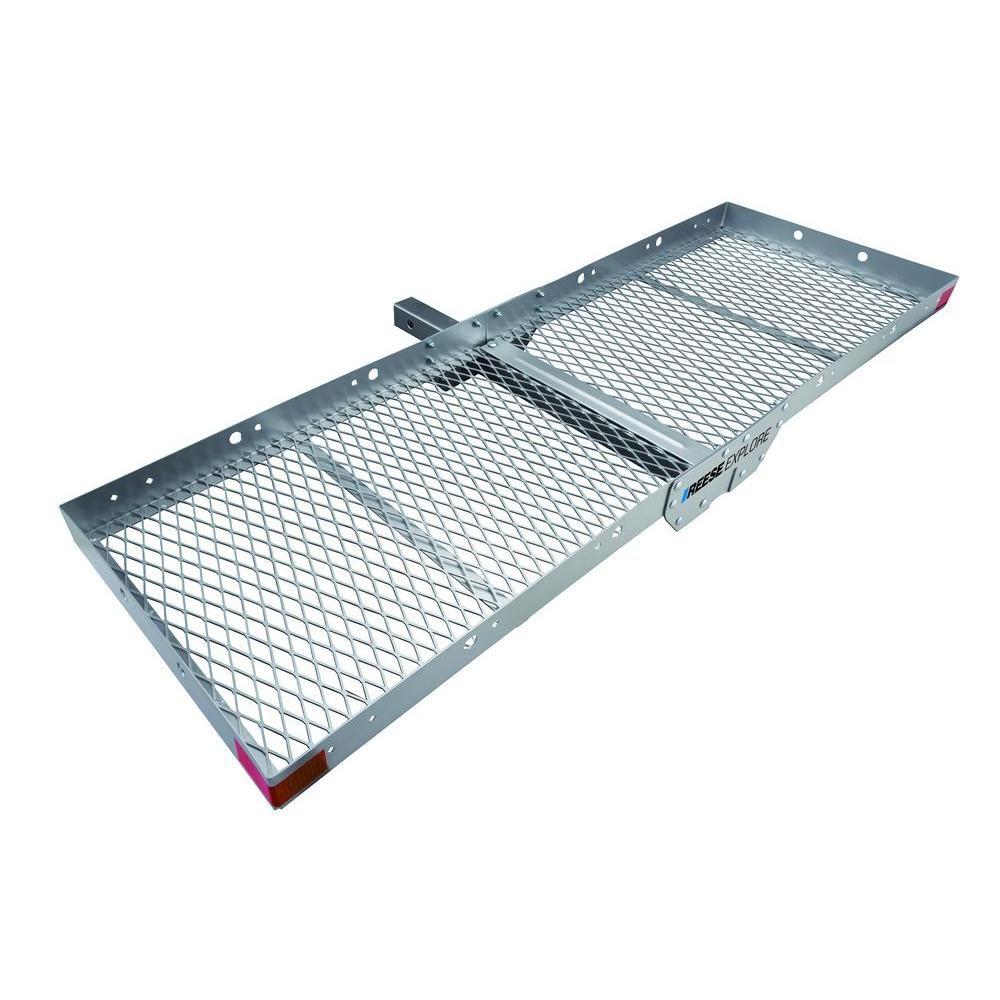 Reese 500 lbs. Capacity Tray Style Aluminum Hitch Cargo