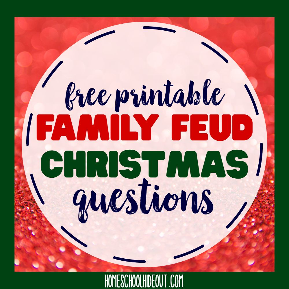 Free Printable Family Feud Christmas Questions Family Feud Christmas Questions Christmas Questions Christmas Family Fued
