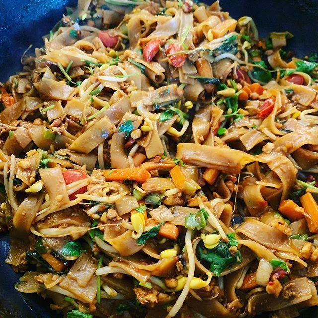 Veggie pad Thai  Veggie pad Thai