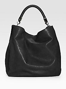 Yves Saint Laurent Ysl Large Leather Roady Hobo Saks Fifth Avenue