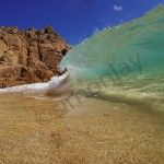 What a wave! What an image! This is Porthcurno in the far west of Cornwall