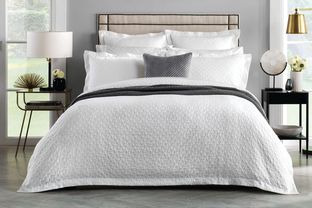 Sheridan Otterson Tailored Quilt Cover White Sheridan