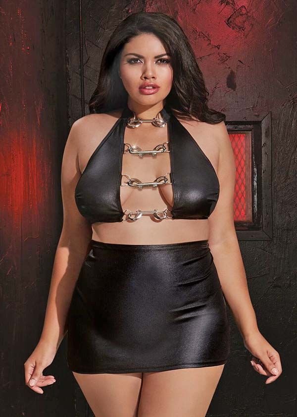 models Plus size fetish lingerie