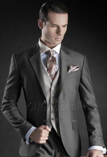 pin de conny parra en boda | pinterest | traje de novio gris, traje