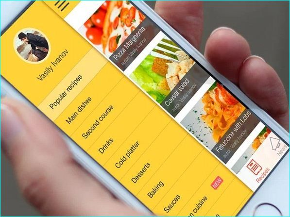 25 inspiring recipe app ui design 1313044 pinterest app ui it is mandatory that to implement the best ui design while developing android and iphone apps check this post on inspiring recipe app ui design forumfinder Images
