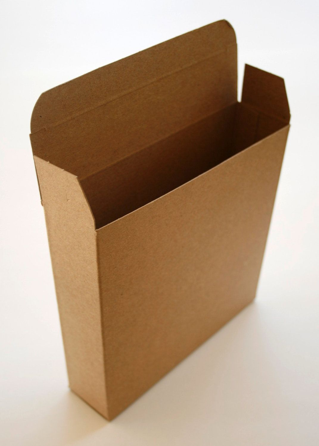 Brown Kraft Boxes DIY - set of 30 - Perfect with Twine or Deco Tape - Packaging - 6 x 1.5 x 6 Inches. $16.25, via Etsy.