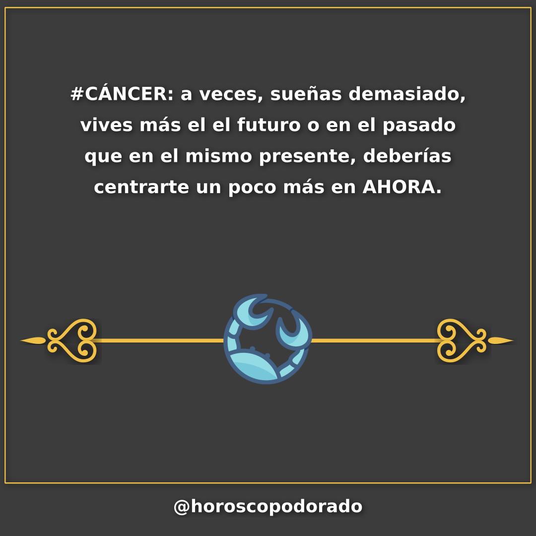 Cáncer Horóscopo Dorado En 2020 Horoscopo Cancer Horoscopo Y Tarot Horoscopos