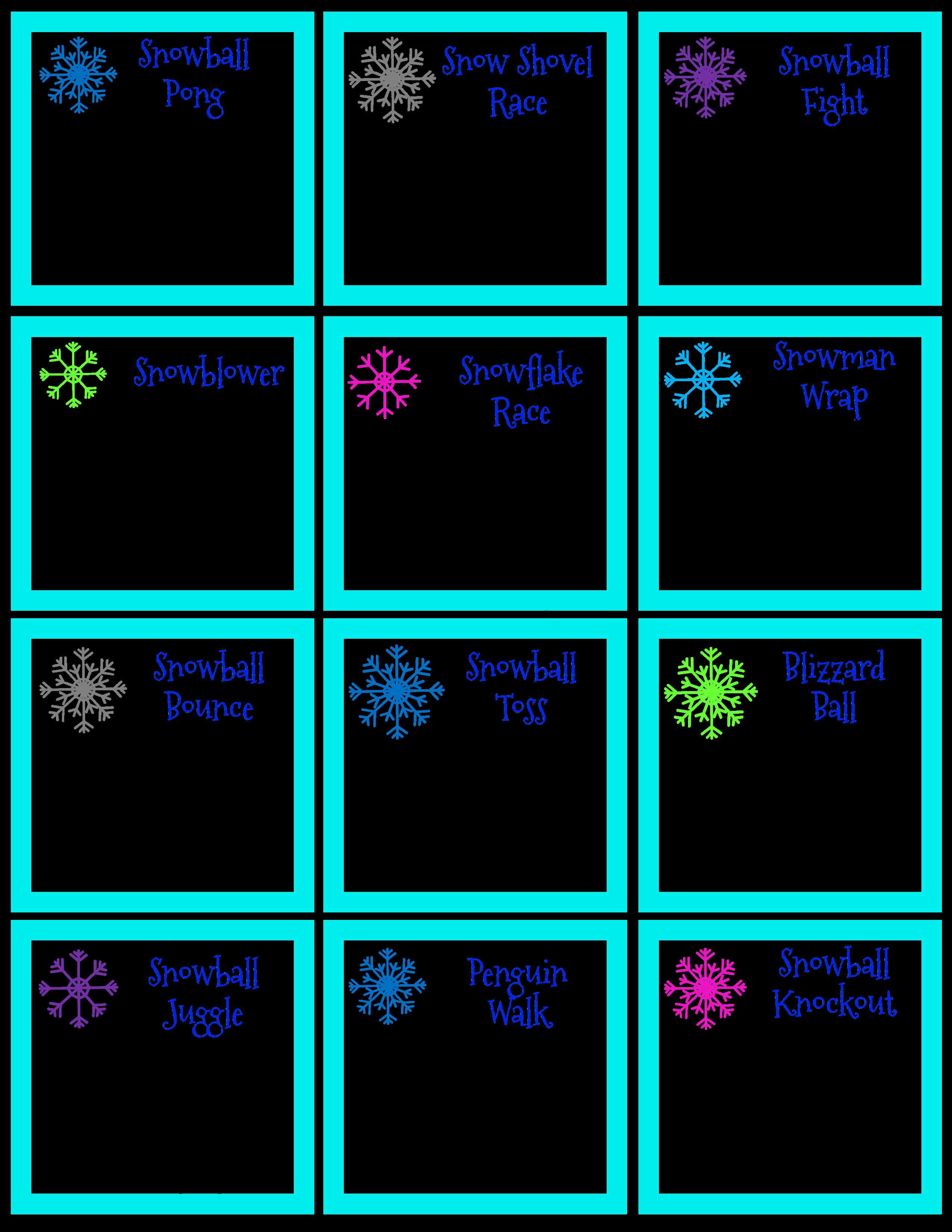 Snowball Games | Pinterest | Snowball games, Classroom party ideas ...