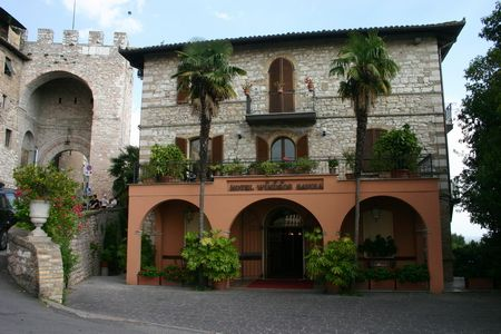 hotel windsor savoia in Assisi Italy. We stayed there in