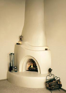 Zuni Kiva Fireplace Fireplace Kits Fireplace Southwestern Home