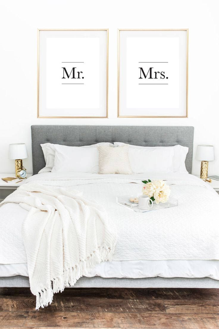 Mr and Mrs Signs, Couple Gifts, Romantic Decor, Wedding Sign ...