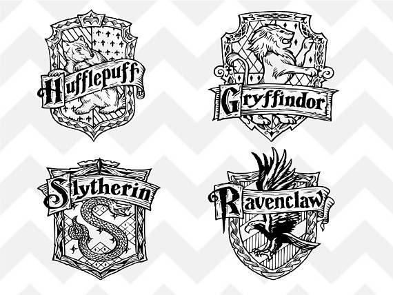 Hufflepuff Crest Emblem Badge SVG Harry Potter Hogwart39s ...